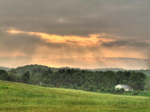 Dawn in Vermont