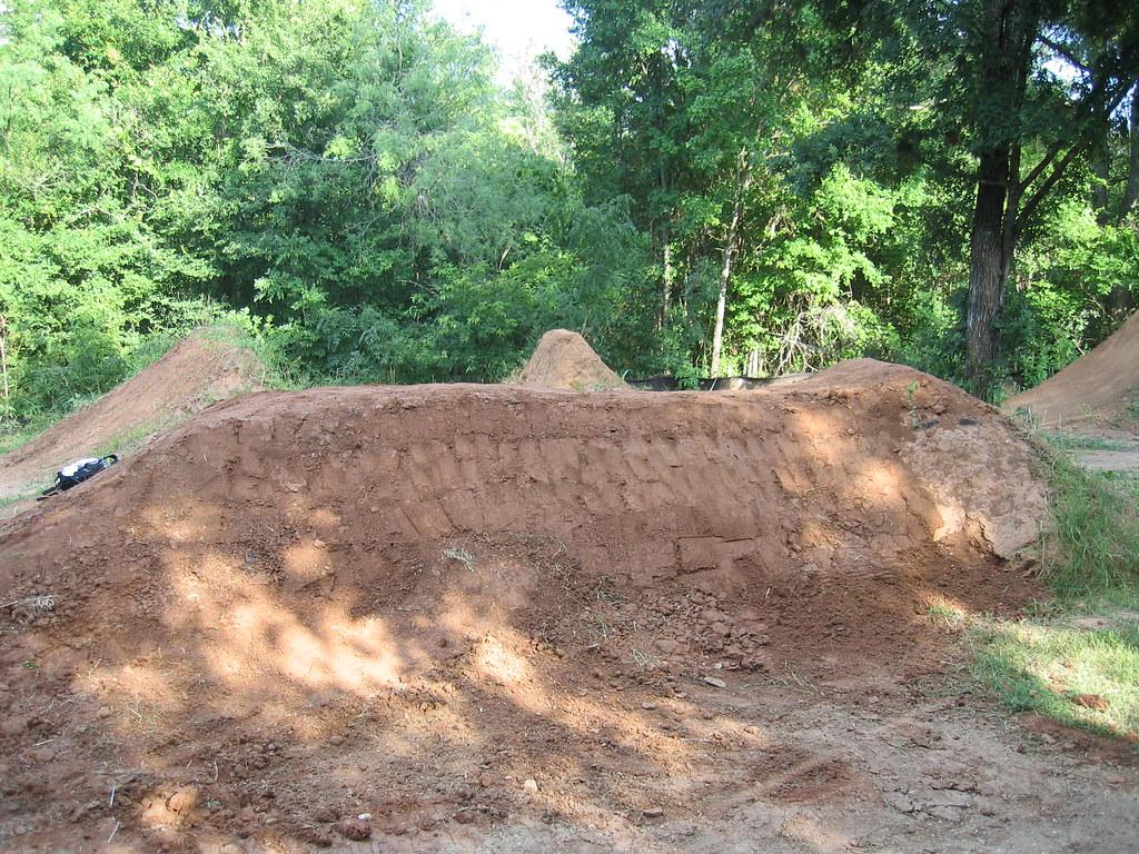 Backyard Bmx Jumps dj , pump track plans- mtbr