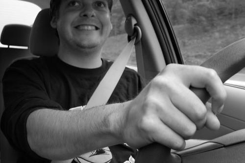 Iain Drives!