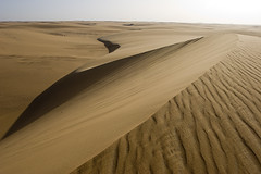 Sanddunes in the Western Desert of Egypt - by waterwin