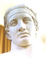 Diadumeno viso (SauroZ1) Tags: sculpture grecia policleto diadumeno