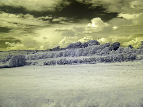 замок острова Уайт Карисбрук