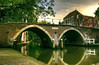 Arched Bridge ((Erik)) Tags: bridge water bravo utrecht thenetherlands oudegracht aplusphoto erikvanhannen
