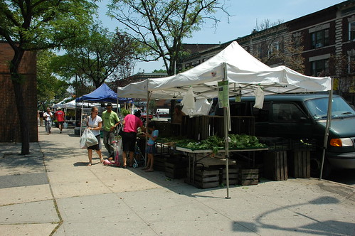 Cortelyou Greenmarket (photo by Flatbush Gardener)