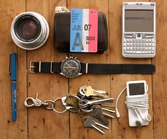 i had to play (joshua of california) Tags: zeiss keys nokia ipod omega v muni nano speedmaster pilot e61 fastpass precise