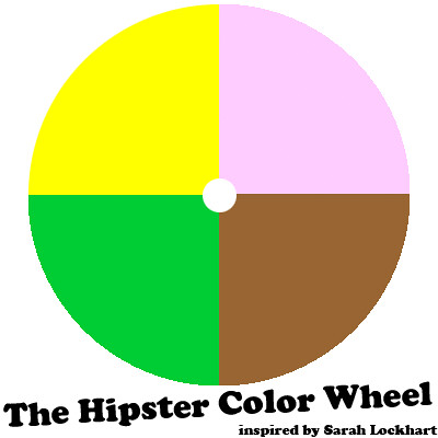 the Hipster Color Wheel