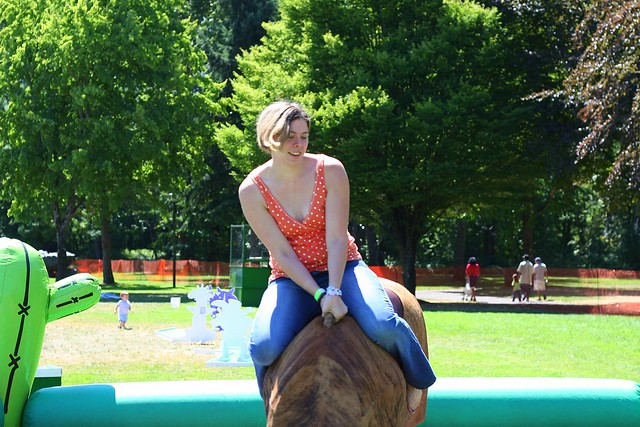Lady Rides the Bull 1