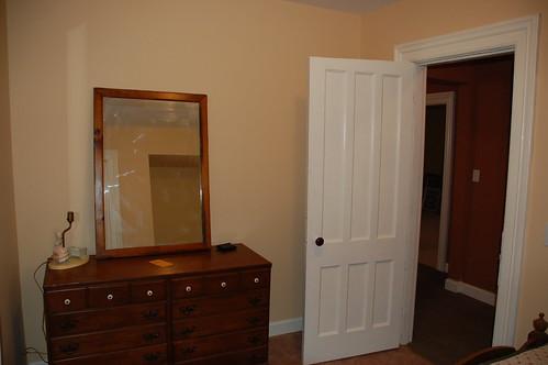 Bedroom, freshly painted & carpeted