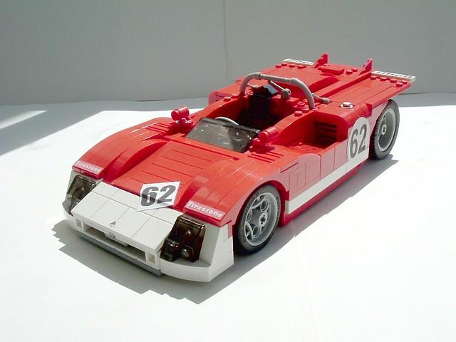 car race lego alfaromeo lugnuts comunidade moc tipo33 0937