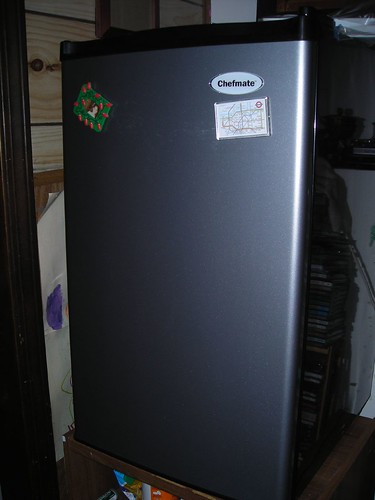 I got a new bigger fridge for my basement.