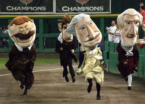 Presidents Race, Washington Nationals