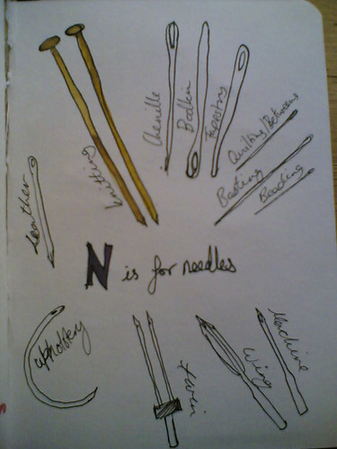 N is for needles