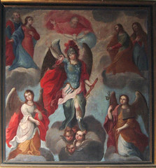 The Three Archangels: Gabriel, Michael and Raphael