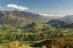 The Remarkables, was there ever a better named range? (MaeveCC) Tags: newzealand mountains beautiful landscape southisland queenstown aotearoa remarkables theremarkables