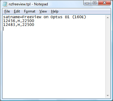 Create FreeView File
