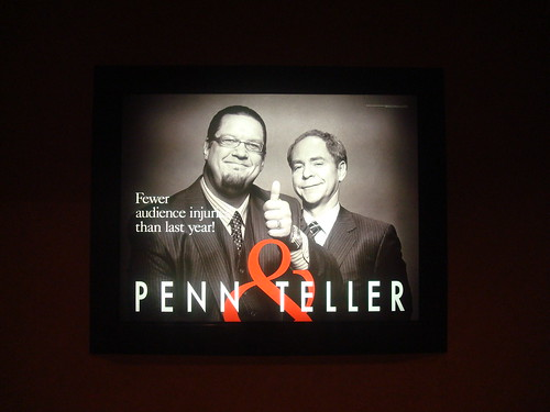 Penn & Teller by highlander411, on Flickr