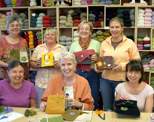 Sept 23, 2007 Needle Felting Class