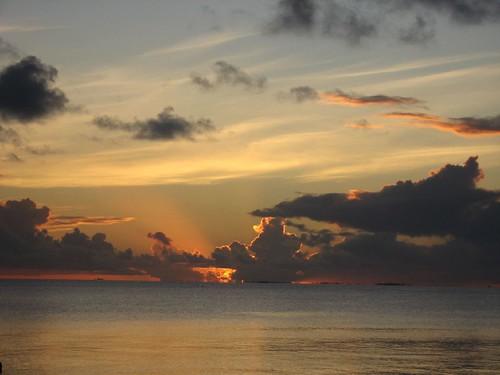 Fakarava #53 coucher de soleil