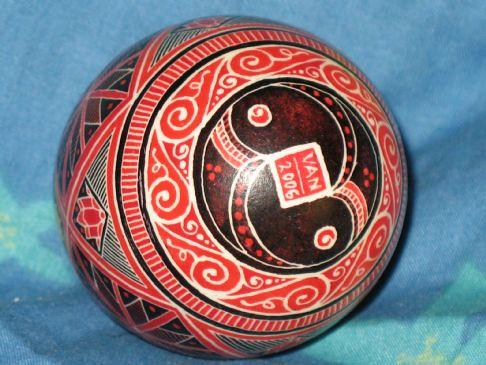 Traditional Style pysanka 03 (bottom)
