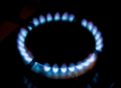 Gas Energy Burner Cooking flame