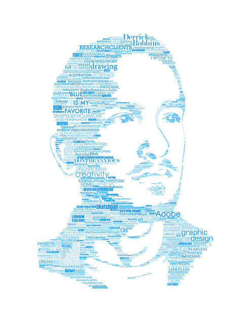 Typographic Self Portrait