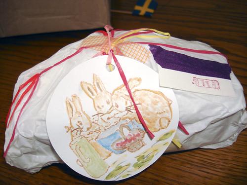 Leilas liebevoll verpackter Tüpflihupf