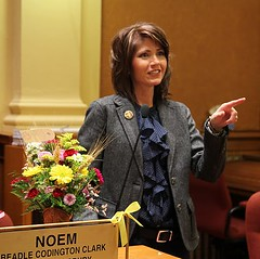 Noem in Legislature