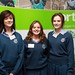 Laura Burke, Aisling Smyth and Rachel O'Hora of Dominican College in Drumcondra.