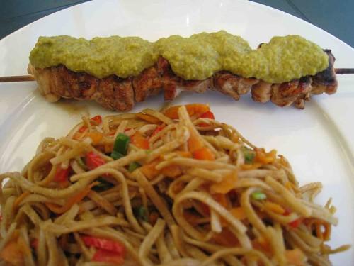 brochette poulet satay 6