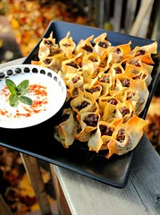 Manti turkish dumplings, with yogurt (Adventuress Heart) Tags: food cooking dinner traditional meat arabic foodies afghan armenia wonton yogurt homecooked parsley dumplings lebanese turkish cultural manti turkishfood dumpling middleeastern comfortfood armenian mantu turkishcuisine junephotocontest turkishmanti