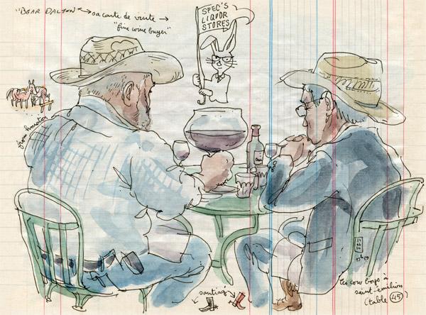 les cowboys à saint-émilion