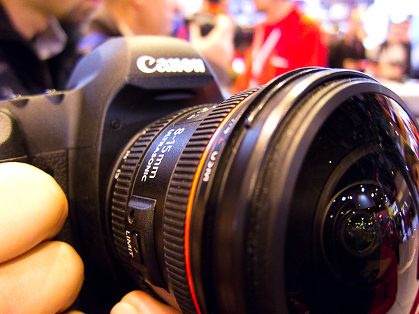 The famous zoom fisheye 8-15mm f4 L by Canon