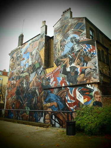 The Battle of Cable Street Mural