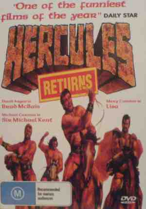 Hercules Returns - Front Cover
