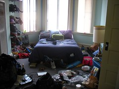 OUR Bedroom Mess