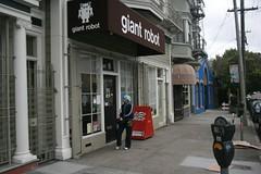 Giant Robot, San Franciso