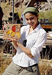 Puja Gupta at Arcosanti - Miss India Universe 2007 (Thompson Photography) Tags: 2005 friends india delhi indian workshop arcosanti picnik beautifulgirl indianmodel mybrushwithfame pujagupta pujaguptashowinghersiltcasttile missindiauniverse2007 top10finalistmissuniverse