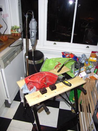 light kitchen cluster rear workshop purpose tool multi rotary workbench dremel twingo