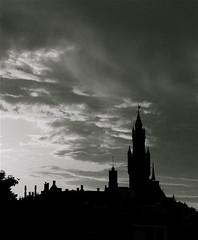 DARK CLOUDS ABOVE THE PEACE PALACE - by Akbar Simonse