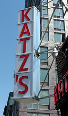 NYC: Katz's Deli (Professor Bop) Tags: nyc newyorkcity sign advertising manhattan lowereastside canonpowershots3is katzsdelicatessan professorbop