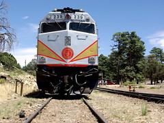 Grand Canyon Railroad (Al_HikesAZ) Tags: park railroad arizona train nationalpark village hiking grandcanyon grand canyon hike national transportation locomotive southrim hikes grandcanyonnationalpark gcnp alhikesaz