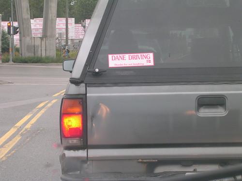 Dane Driving
