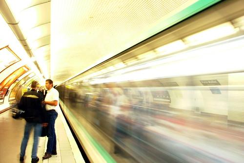Paris Metro - Porte Maillot