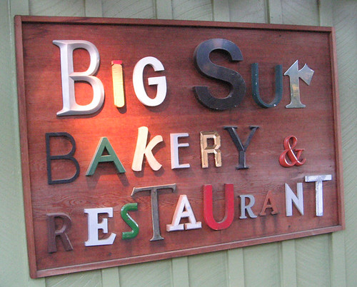 big sur bakery
