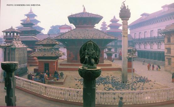 Kathmandu Durbar Square by Gyanendra Das Shrestha