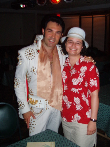 me with Ron Short, er, Elvis