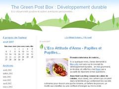 Interview Anne, Papilles et Pupilles pour The Green Post Box