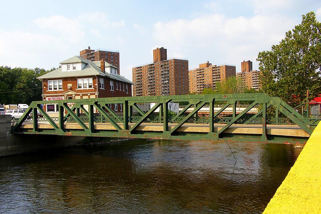 Alfano Island Bridge Over The Passaic River, Paterson, New Jersey (jag9889)  Tags
