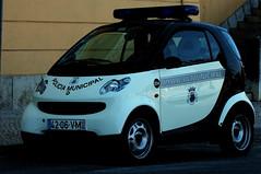 white portugal smart wheels policecar cascais alltypesoftransport
