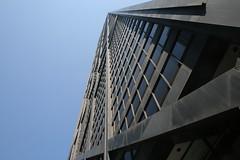Cross up (urbanfeel) Tags: city windows sky chicago black up skyscraper downtown crosses metropolis tall johnhancock illinios crossbrassing